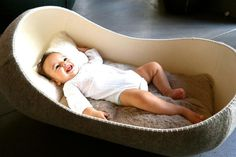 Hanging Felt Cradle #cradle