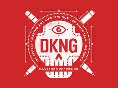 New DKNG Shirt (revised) #skull