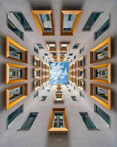 Symmetrical Architectural Photography by Peter Rajkai
