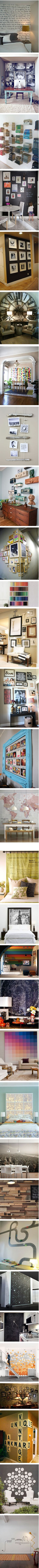 #creative #stylish #wall #decor #ideas #decals #murals