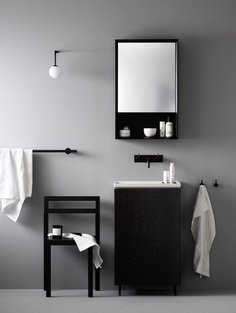 Norm Architects create bathroom collection for small-space living