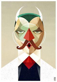 Face Studies | Konstriktor • Helder Oliveira • Illustration #illustration #portrait #face