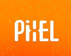 Logo Design: Negative Space #logo #pixel