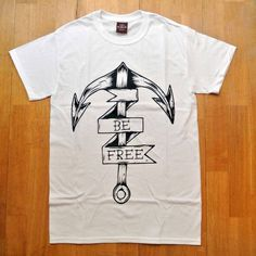 Be Free Clothing #clothing #branding #apparel #design #tshirt #anchor