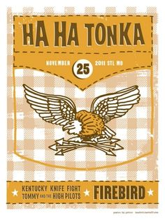 GigPosters.com - Ha Ha Tonka - Kentucky Knife Fight - Tommy And The High Pilots #jason #potter #ha #poster #tonka