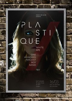 Plastique – Live Show Poster on Behance