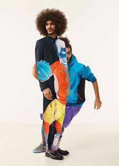 Nike x BKRW magazine, Jean Yves Lemoigne #photography #inverted #nike