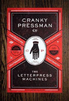 Google Reader (920) #pressman #letterpress #poster #cranky
