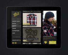 SWAGU #user #ipad #design #interface #mobile