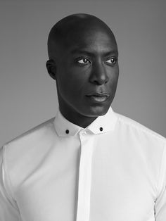 Ozwald Boateng on the Behance Network #fashion #man #black