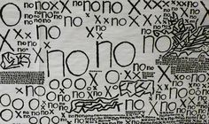 no #illustration #handwritten #poster #art #type