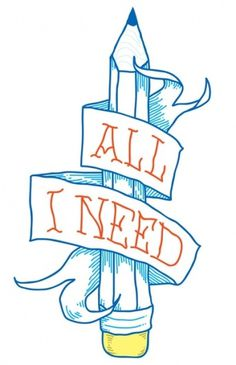 All I need Art Print by Andrei D. Robu | Society6 #type #shop #pencil #tshirt