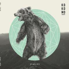 If Wolves | kokomo #geometric #artwork #record #illustration #release #bear
