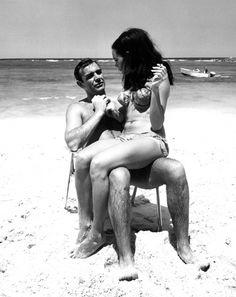 Connery #sean #boss #bond #beach #connery