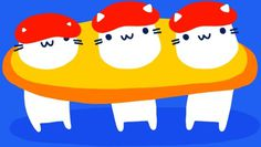 ADHD Pizza GIFs on Behance #gif #cat #pizza