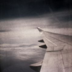 boring travels : Christian Tochtermann #pinhole #travels #flight #sky #boring #flying #photography #plane