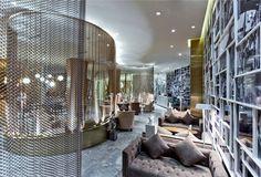 Chinese Boutique Hotel Skytel #hotel #lobby #design