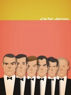 emerald son: UK Illustration Chow #james #movie #bond #poster