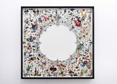 Photographic Collages Suspended in Plexiglas #transparent #photography