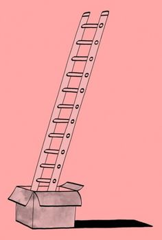 ladder-col.jpg (405×600) #ladder #illustration #box