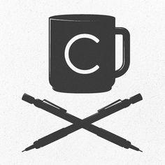 Simon Ã…lander letters the alphabet - Jared Erickson   Jared Erickson #coffee #pens #illustration #minimal