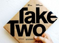 Baubauhaus. #packaging #design #graphic #two #take #typography