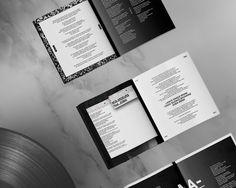"Arkadin - ""Atlanta"". Design: Quentin Deronzier Photo: Julot Bandit Model: Julia NefedovaI #identity #vinyl #album #LP #arkadin #band #blac"
