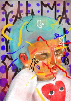 #illustration #child #digitalpainting #digital #painting #kids #play #player #pixo #photoshop #poster #fineart #commes
