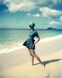 Buamai - Swim Dress #fashion #beach #vintage