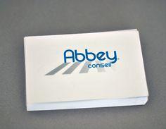 Abbey Conseil - graphicwand #abbey #business #graphicwand #card #corporate #identity #logo #conseil