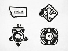 Dribbble_anc_badges #icons #bird #montana #badges