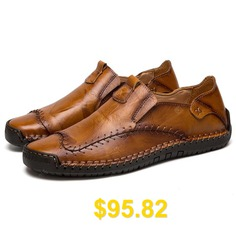 Male #Fashionable #Non-slip #Durable #Casual #Shoes #- #LIGHT #BROWN