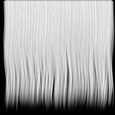 Free Dark Hair Texture Transparency Map
