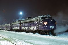 Canada - Confederation Train - page 2 #train #canada #1967 #confederation #purple #locomotive