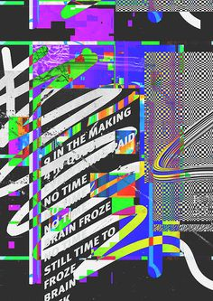 Royal Studio | PICDIT #design #graphic #glitch #poster #art #type