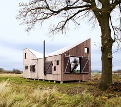 Modernistic Wooden House Zilvar - #architecture, #house, #home, home, architecture