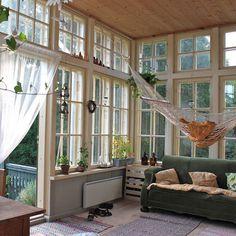 photo #interior #hammock