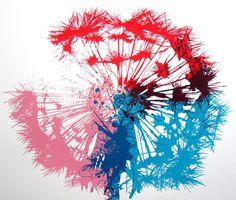 Dandelionhttps://www.etsy.com/listing/102201310/dandelion #print #color #dandelion #art #flower