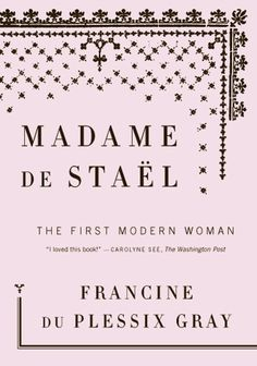The Book Cover Archive: Madame de Stael, design by Helen Yentus #design #graphic #bookcover