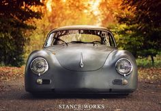The Outlaw - Stance Works #stance #low #photography #porsche #car