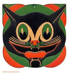 Designersgotoheaven.com1930s Halloween Design. (ViaVintageMeOhMy) #cat