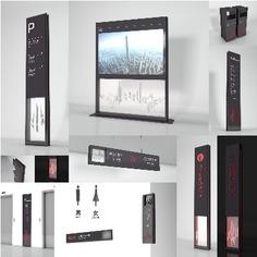 office | Wayfinding | Signage | Sign Design 成都金融中心导视系统设计概念方案源文件模板