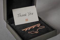 Marangoni Gino | Personal Brand. #copper #hotfoil #elegant #sober #minimal #thanks #card #gift