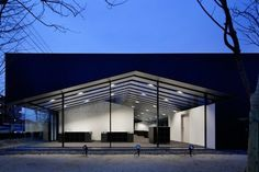 Aqua Plannet Headquarters by Sugawaradaisuke #office #architecture #minimal