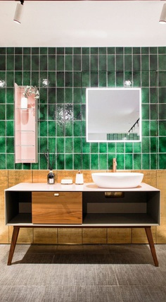 Colourliving Showroom Featuring Seven Unique Bathroom Scenarios by Lim + Lu 1