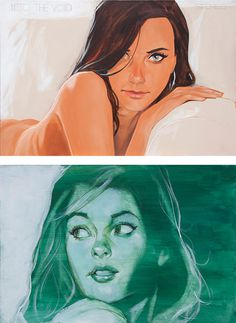 Awesome Illustrations by Phil Noto #illustration