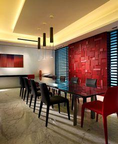 InteriorZine - Dining Room Wall Decor Ideas #diningroom #table #chairs #wall #decor