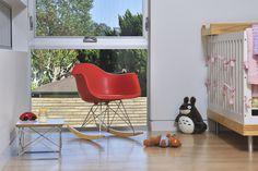 Eames Molded Rocker #tech #flow #gadget #gift #ideas #cool