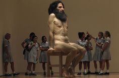 Sculpture #mueck #ron #sculpture #art