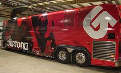 Gallery Bus Wraps|Van Wraps|Car Wraps BusWraps.com #bus #burton #wrap